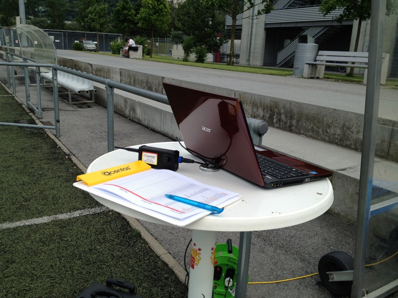 USB Empfänger und Notebook