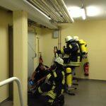 Atemschutzübung Seilzug